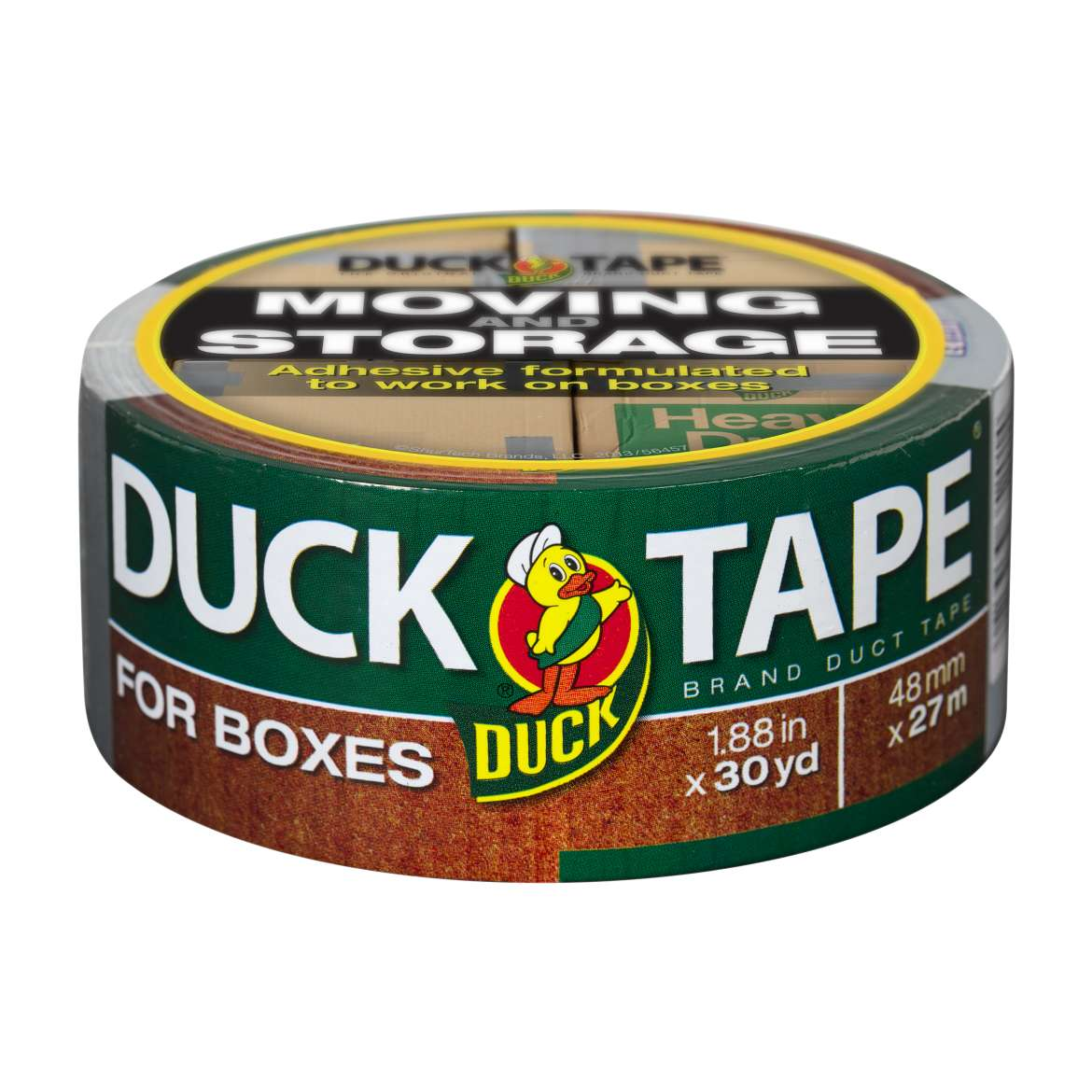 Duck Tape® Brand Duct Tape For Boxes - Silver, 1.88 in. x 30 yd. Image