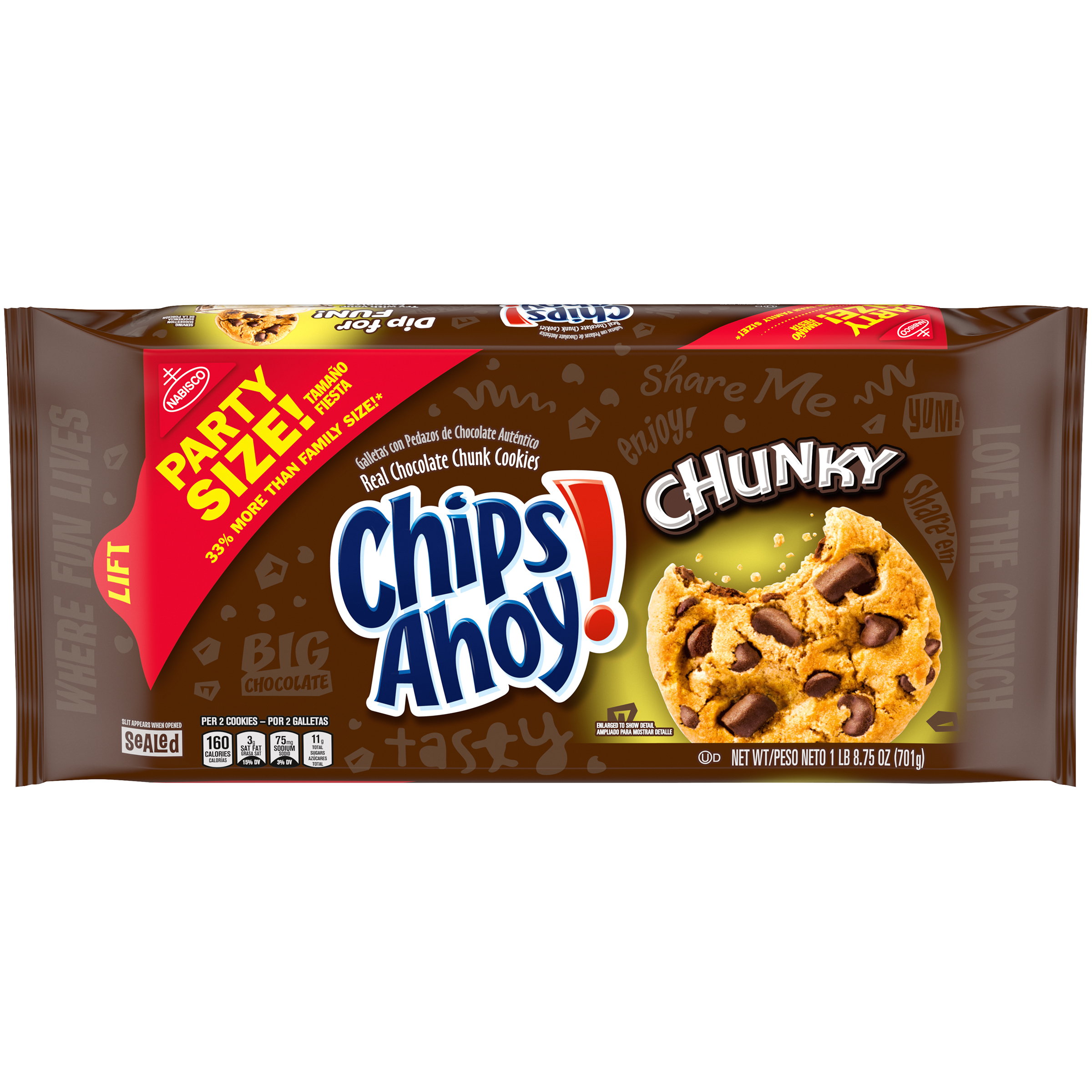 CHIPS AHOY! Chunky Cookies 24.75 Oz