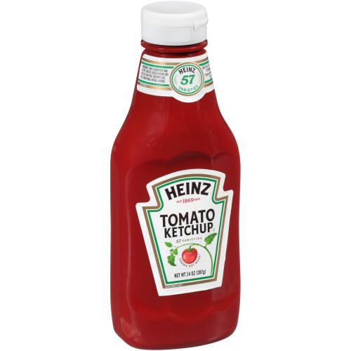 Heinz Tomato Ketchup, 16 ct Casepack, 14 oz Bottles