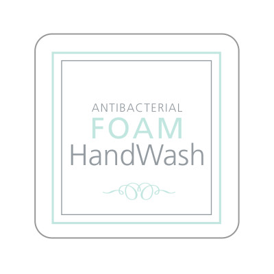 Dispenser Label - Antibacterial Foam Handwash