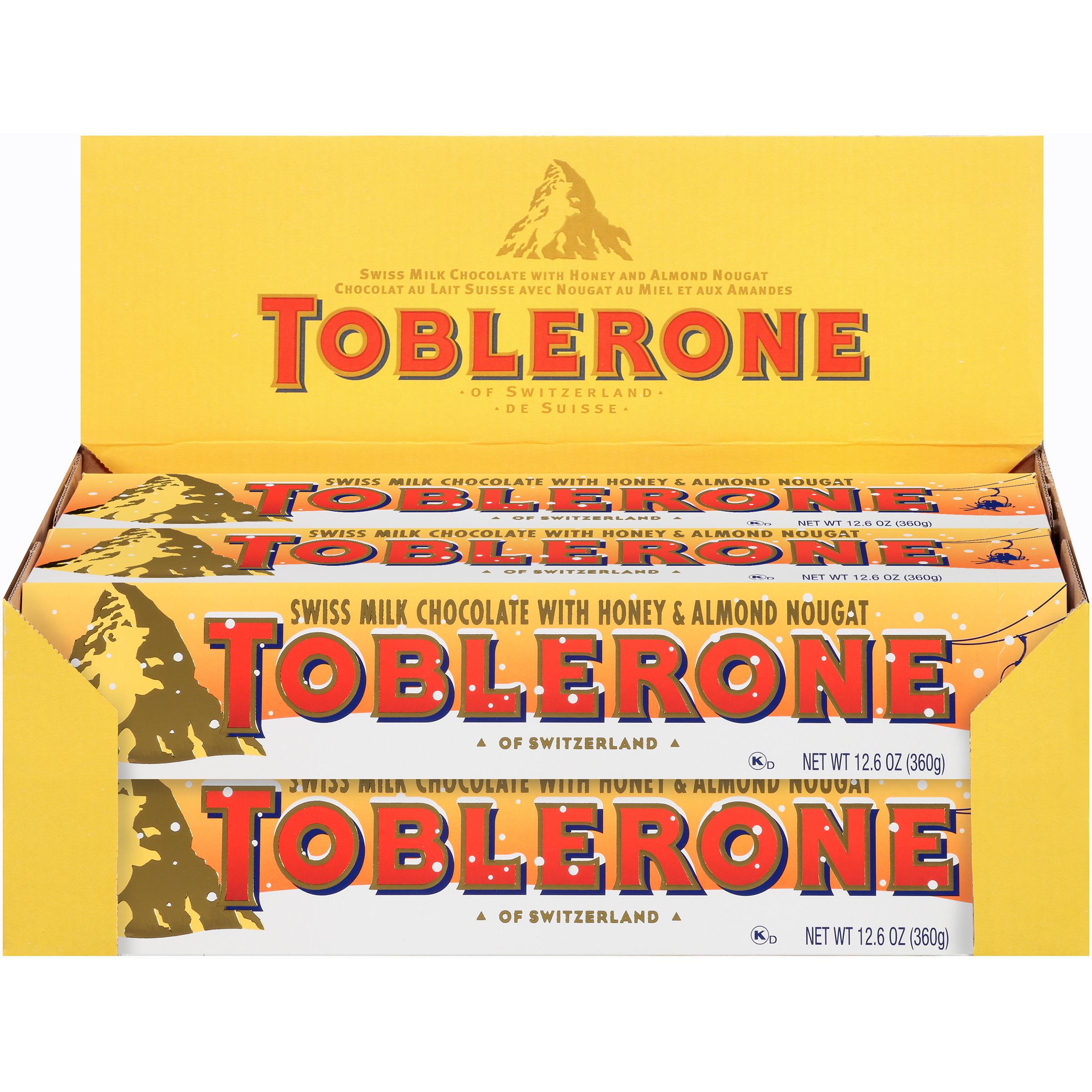 TOBLERONE Milk Chocolate Chocolate Bar 127.04 oz