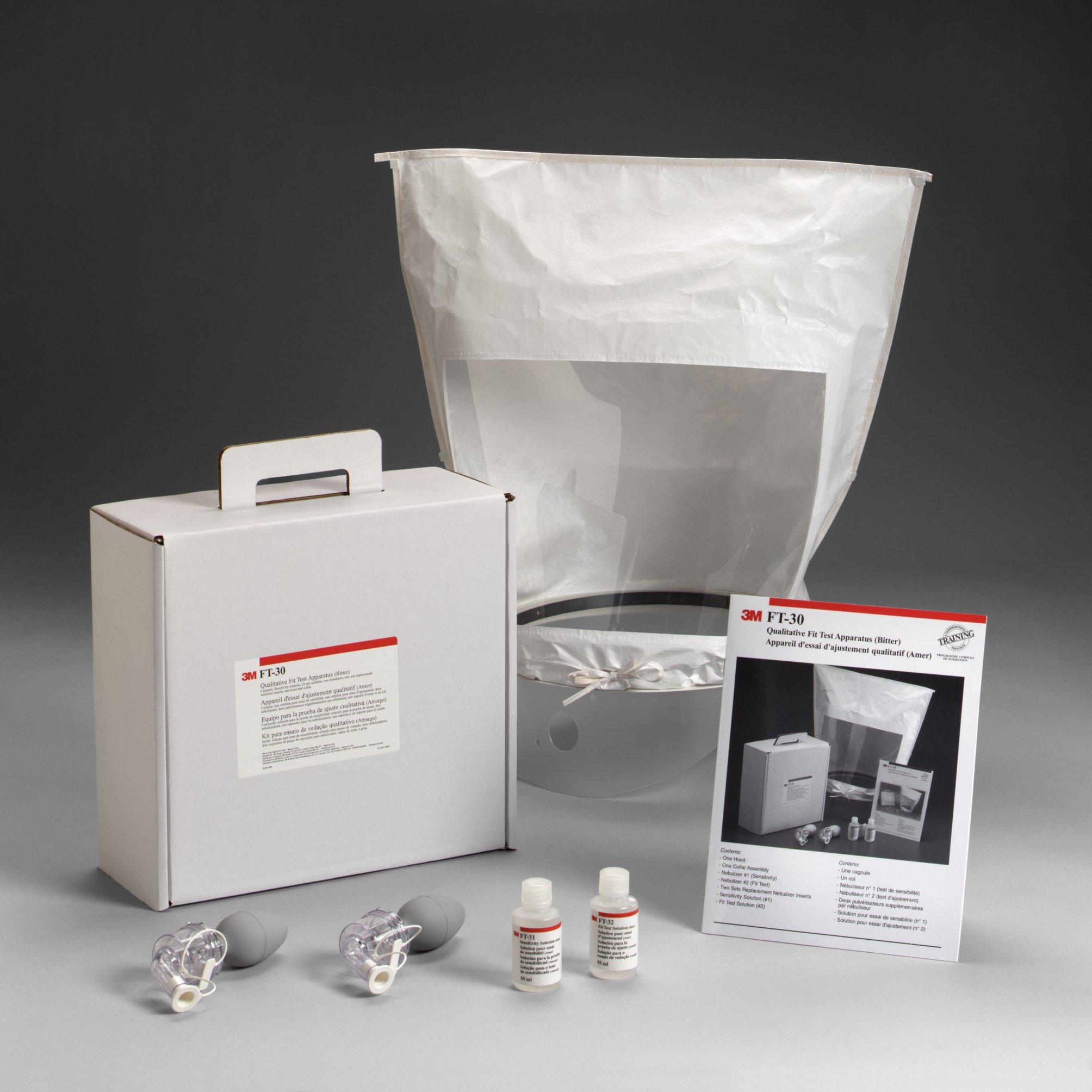 3M Qualitative Fit Test Apparatus Kit, FT-30 - EACH