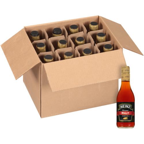 Heinz Malt Vinegar Mini Glass Bottle, 2 oz. Bottles (Pack of 60)