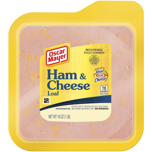Oscar Mayer Ham and Cheese Loaf Pack, 16 oz