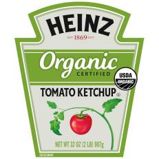 Heinz Organic Tomato Ketchup 32 oz Bottle image