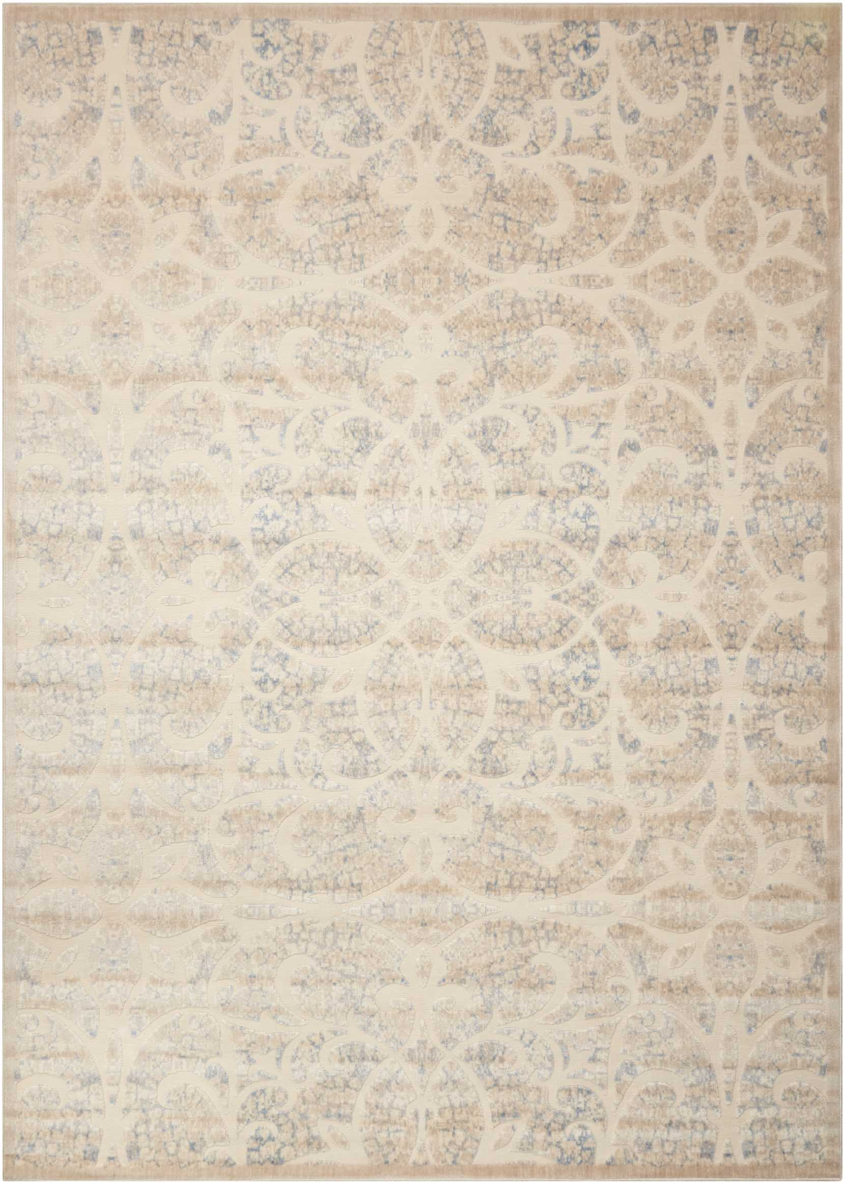 Nourison Graphic Illusions 8'X11' Beige  Area Rug