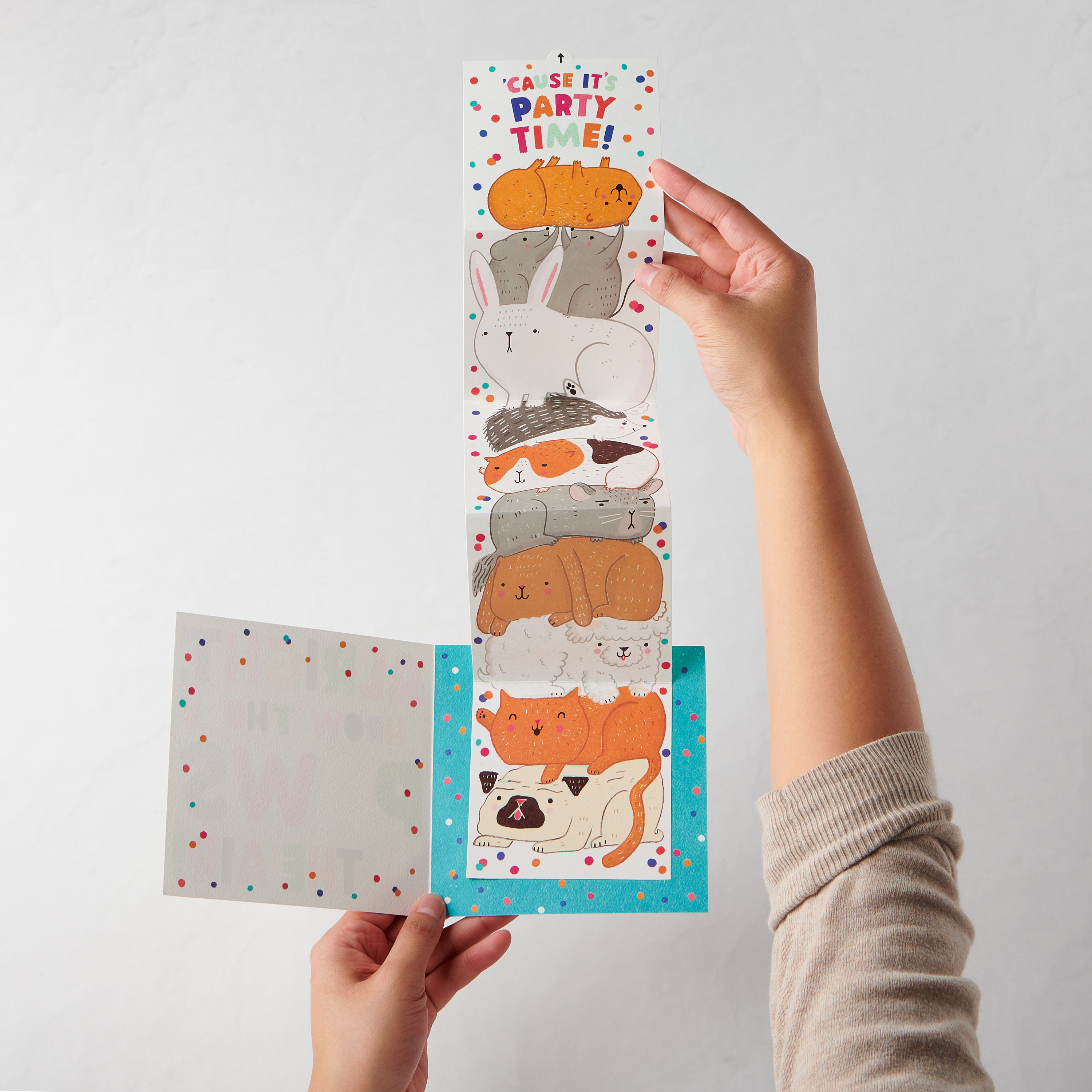 Paws Greeting Card for Kids - Birthday, Congratulations image