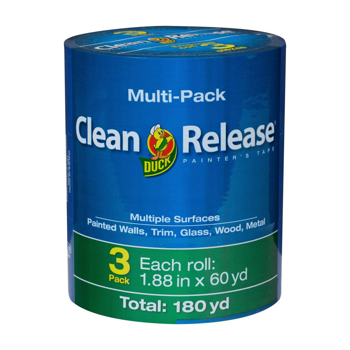 Clean Release® Painter's Tape - Blue, 3 pk, 1.88 in. x 60 yd. Image