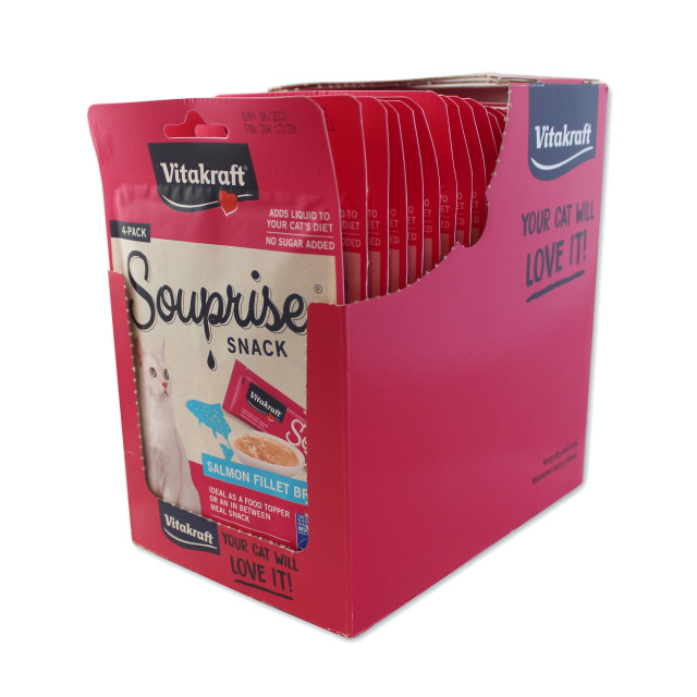 Alt-Image showing Souprise® Snack, Salmon, 4 Pack