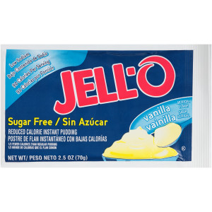 Jell-O Pudding Mix - Vanilla, 2.5 oz. image