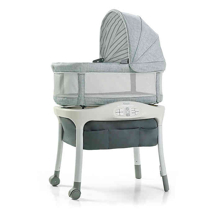 sense2snooze bassinet with cry detection technology hamilton