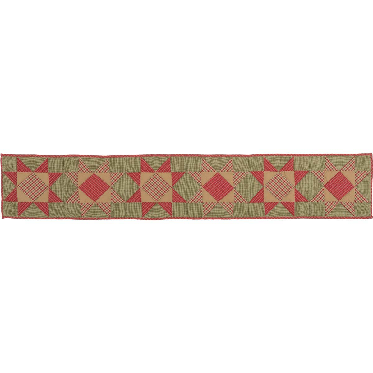 Dolly Star Quilted Runner 13x72
