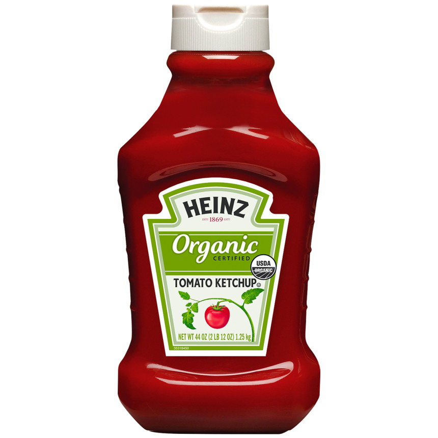 Heinz Organic Tomato Ketchup, 44 oz Bottle image