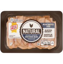 OSCAR MAYER Natural No Antibiotics Ever Hickory Smoked Uncured Ham 7 oz