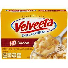 Kraft Velveeta Shells & Cheese with Bacon 10.3 oz Box