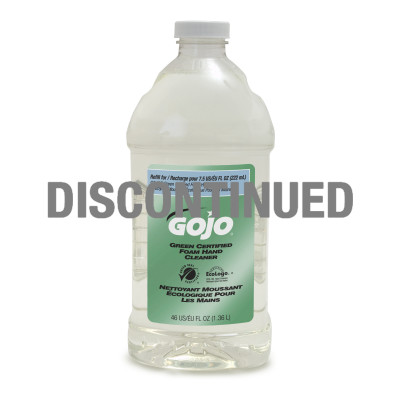 GOJO® Green Certified Foam Hand Cleaner - DISCONTINUED