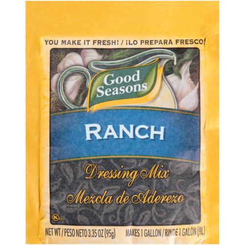 GOOD SEASONS Dry Ranch Salad Dressing Mix, 3.35 oz. Packet (Pack of 20)