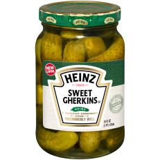 Heinz Premium Sweet Gherkins Pickles 16 fl oz Jar image