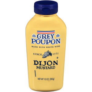 GREY POUPON Dijon Mustard Squeeze Bottle, 10 oz. Bottle (Pack of 12) image