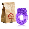 Disposable Vibrating Cockring - purple - 100 pcs Unit