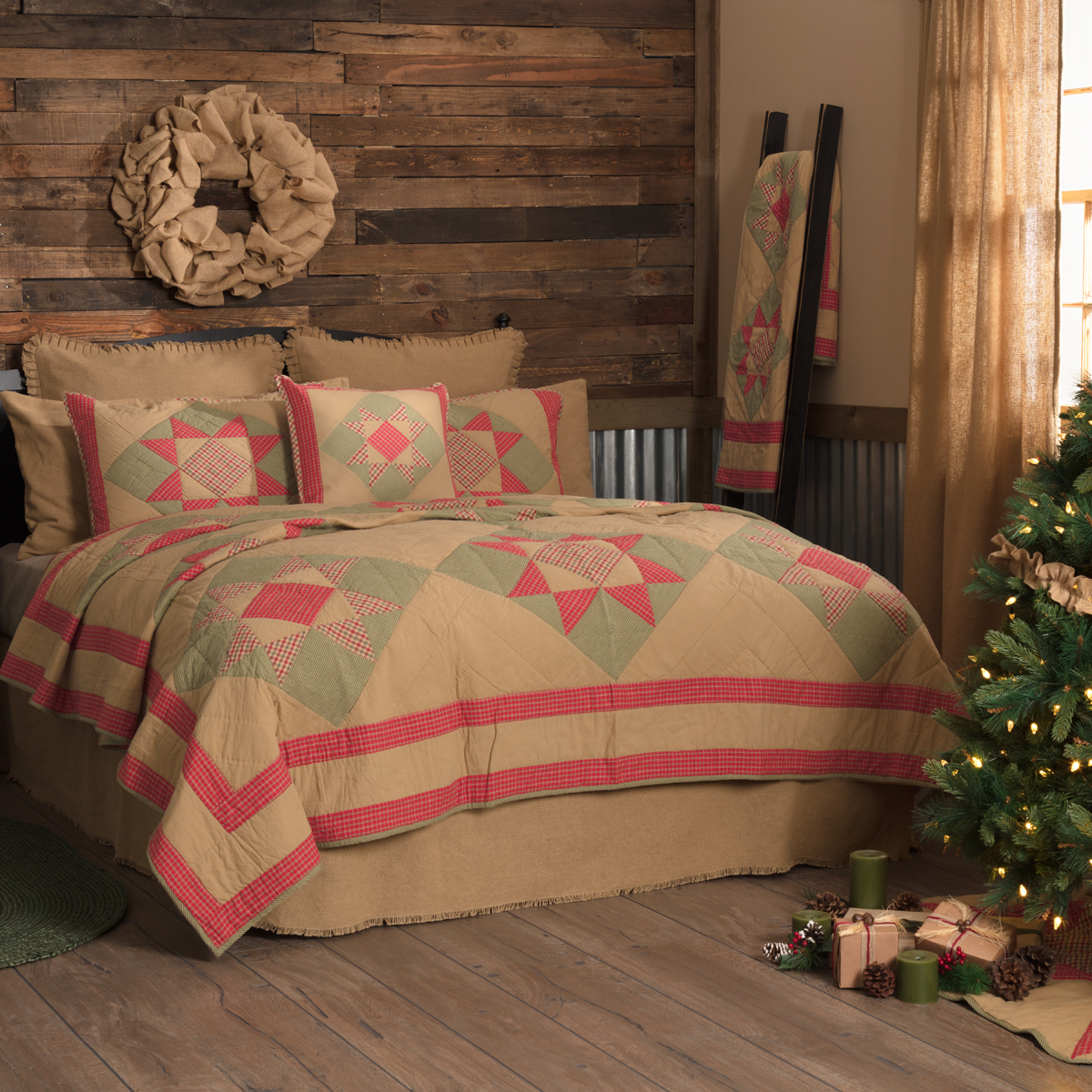 Dolly Star Twin Quilt 68Wx86L