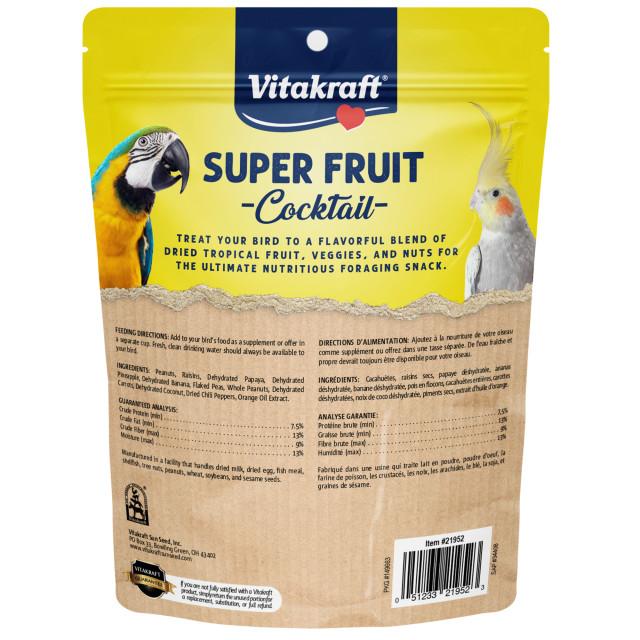 Back-Image showing Super Fruit Cocktail
