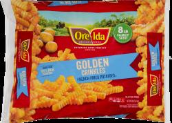 Ore-Ida Golden Crinkles French Fried Potatoes 8 lb Bag image