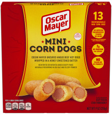 OSCAR MAYER Mini Corn Dogs 9 oz Box