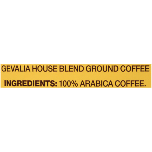 GEVALIA House Blend Coffee, 8 oz. Bag (Pack of 20)