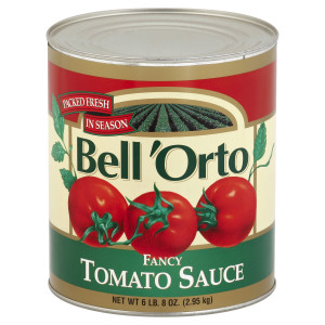 Bell'Orto Fancy Tomato Sauce Tin, 6 lb. image