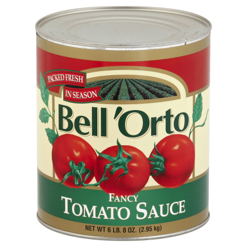 BELL ORTO Fancy Tomato Sauce, 103 oz. Can (Pack of 6)