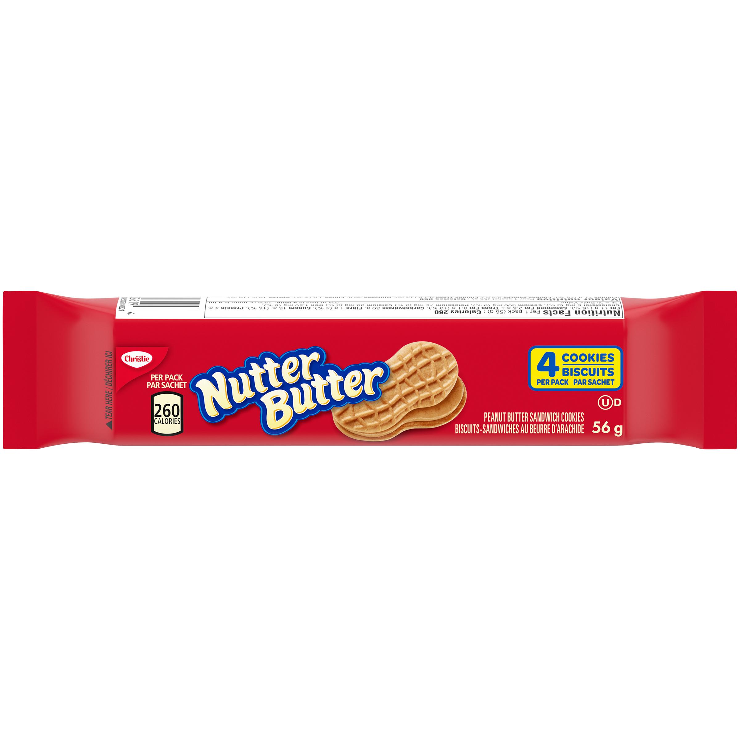 NUTTER BUTTER BEUDARC IND 56G