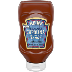 Heinz Carolina Vinegar Style Tangy BBQ Sauce 18.6 oz Bottle image