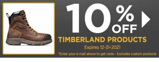 10% Off Timberland Products