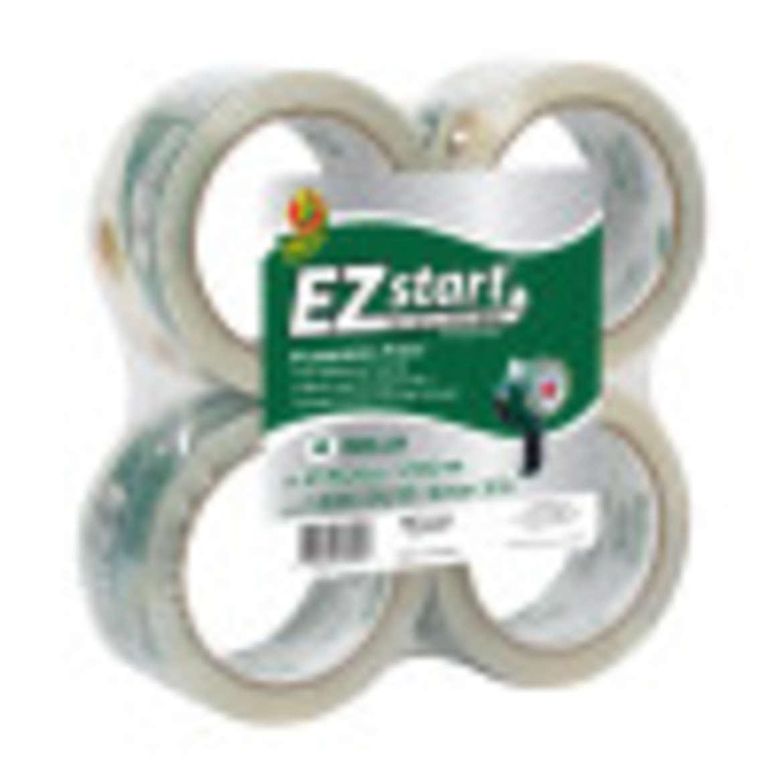 EZ Start® Packaging Tape - Clear, 4 pk, 1.88 in. x 54.6 yd. Image