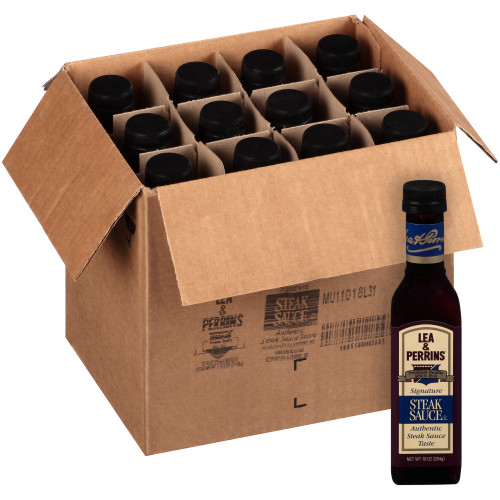 LEA & PERRINS Steak Sauce, 10 oz. Bottles (Pack of 12)