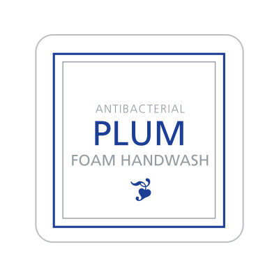 Dispenser Label - Antibacterial Plum Foam Handwash