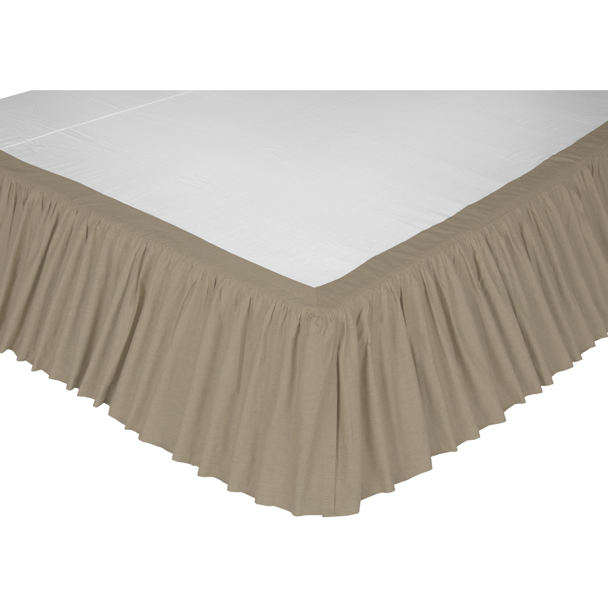 Novak Twin Bed Skirt 39x76x16