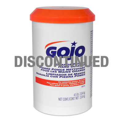 GOJO® Orange Pumice Hand Cleaner - DISCONTINUED