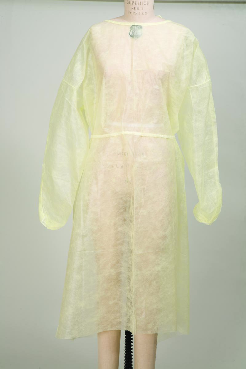 Protective Procedure Gown, McKesson, One Size Fits Most Unisex NonSterile Yellow, 30201100 - Case of 50