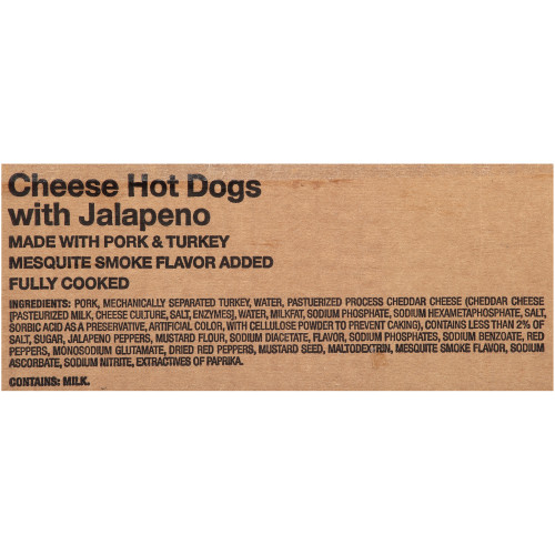 OSCAR MAYER Jalapeno & Cheese Hot Dog (5:1, 6