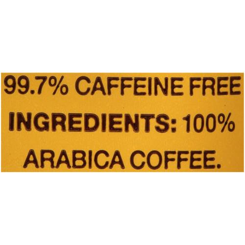 GEVALIA House Blend Decaf Coffee, 2.5 oz. Bag (Pack of 24)