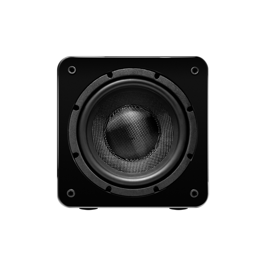 """8"""" Powered Subwoofer 180W Wave Electronics"""
