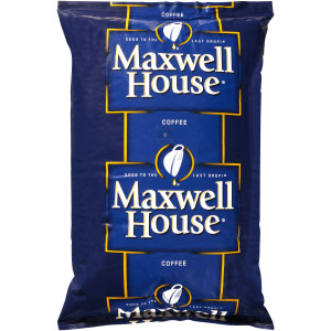 MAXWELL HOUSE Espresso Whole Beans, 4 lb. Bag (Pack of 6) image