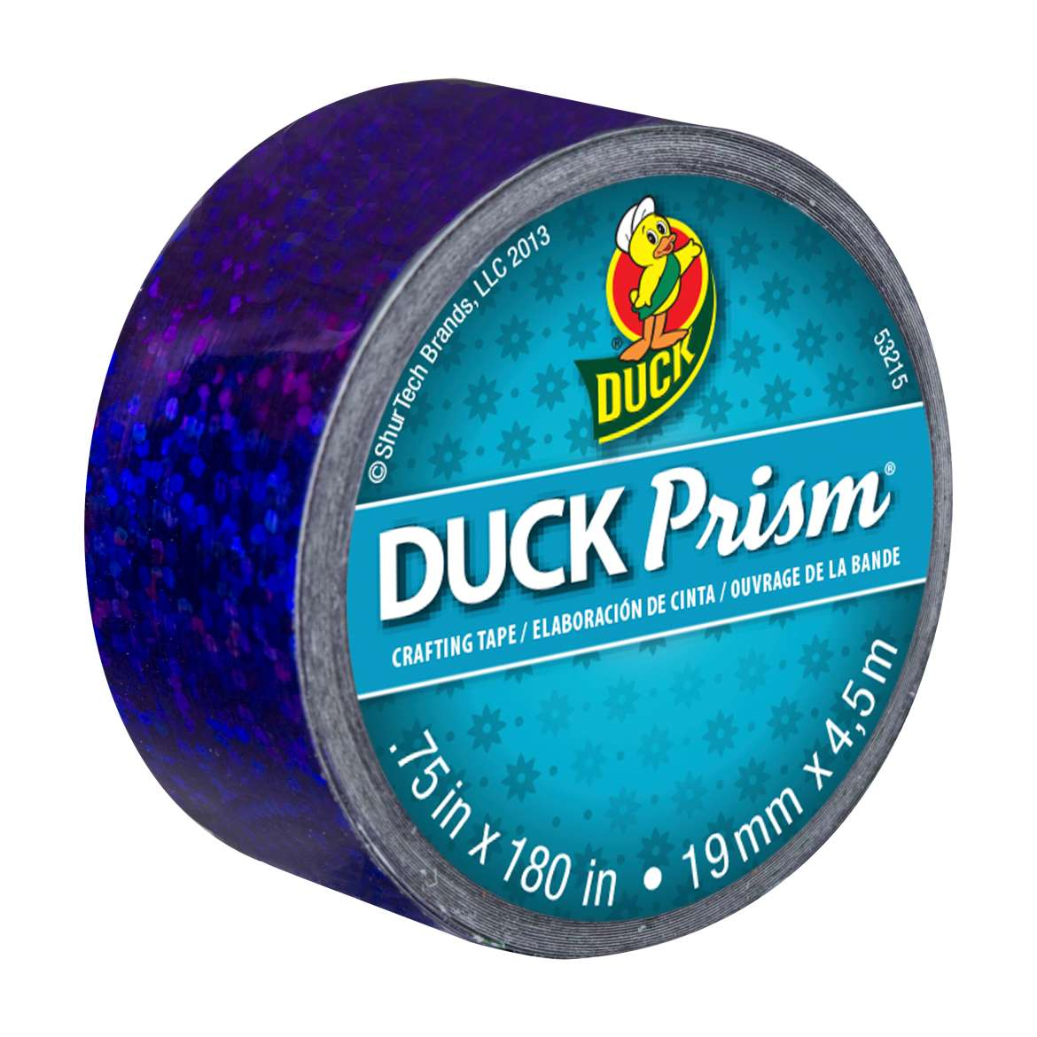 Ducklings® Prism® Crafting Tape - Lots of Dots Purple, .75 in. x 180 in. Image