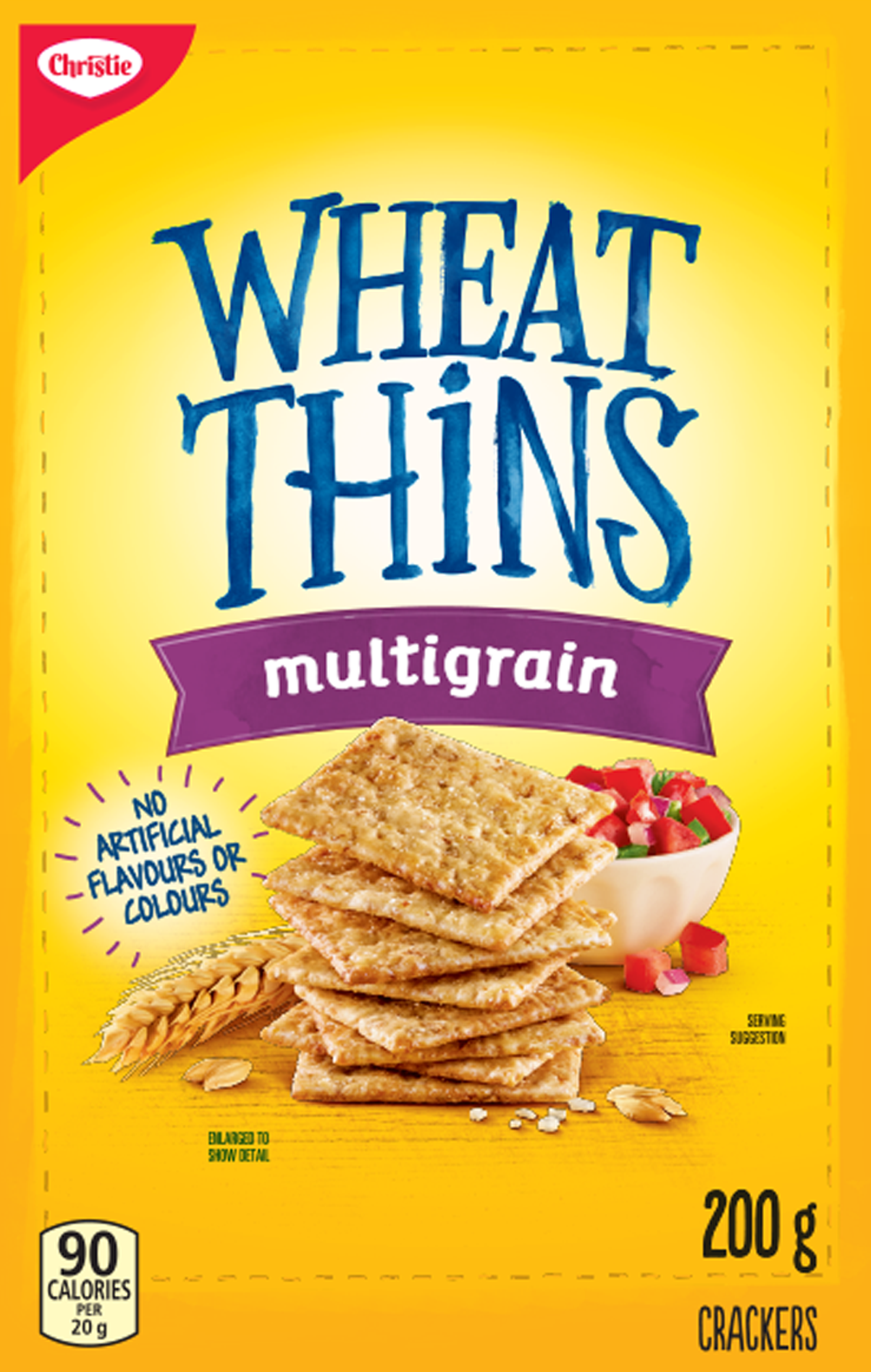 Wheat Thins Multigrain Crackers 200 G