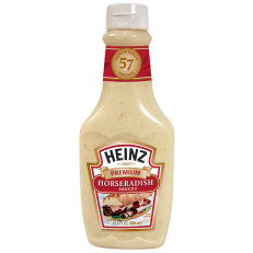 Heinz Premium Horseradish Sauce 12.5 Oz Squeeze Bottle image