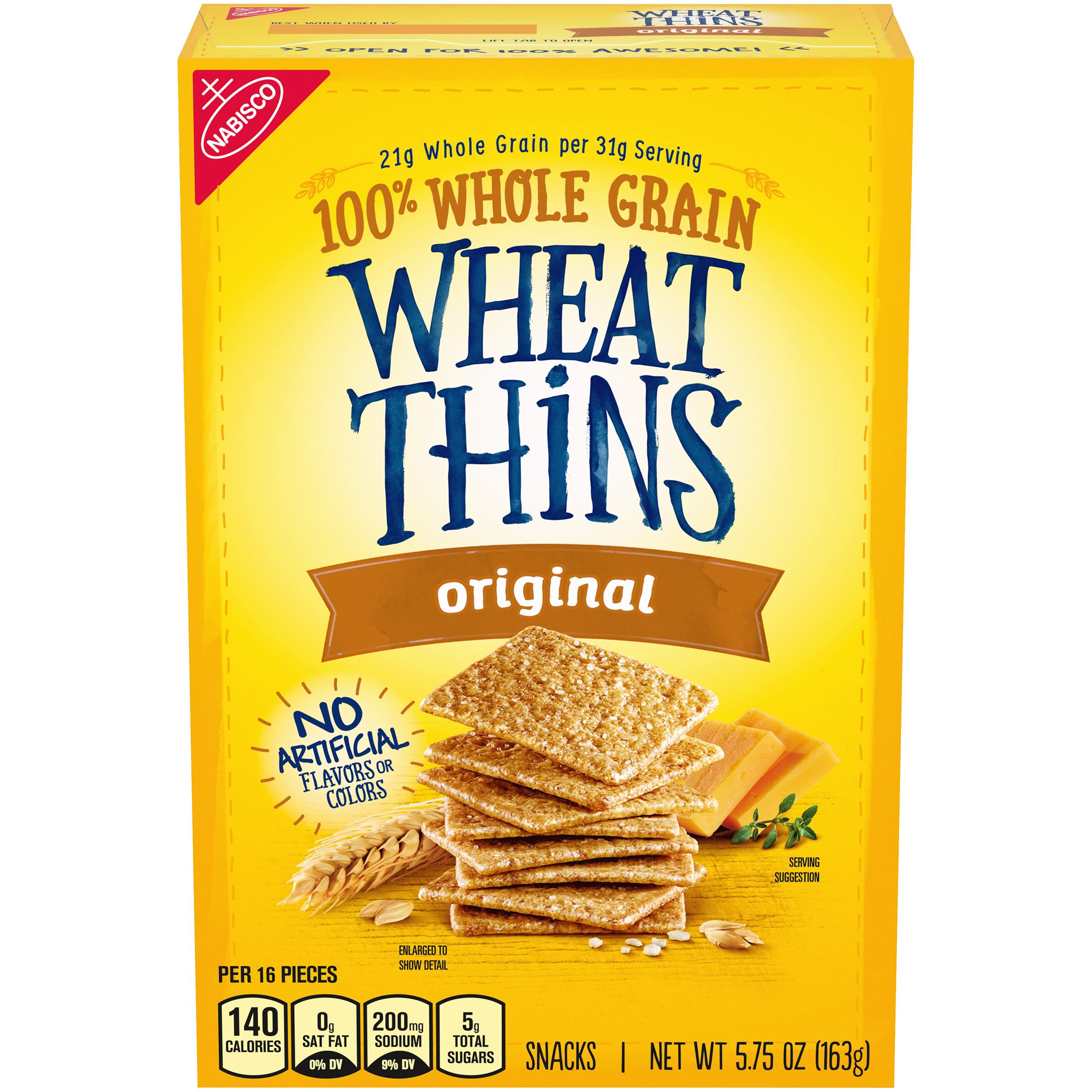 WHEAT THINS Original Crackers 5.78 Oz