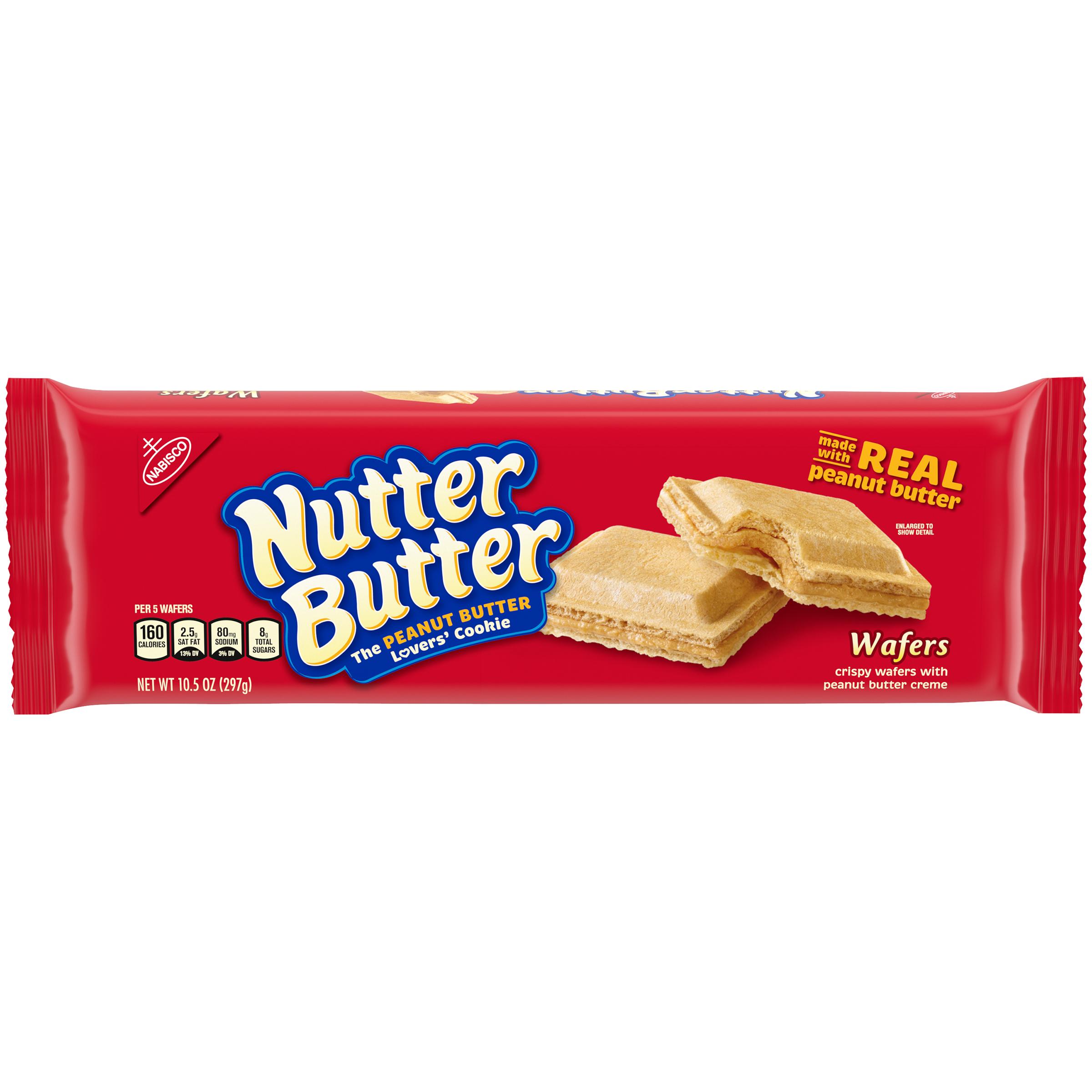 NUTTER BUTTER Peanut Pattie Wafer 10.5 oz