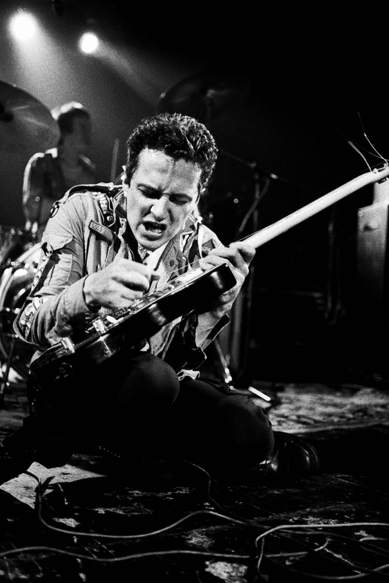 Joe Strummer live with The Clash